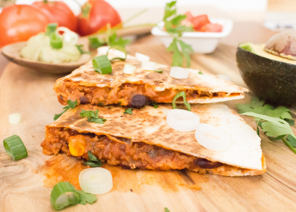 Chili con Carne Quesadillas
